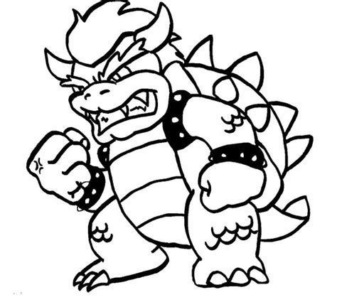 koopa coloring pages coloring pages