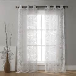 Duck River Window Curtains Shop Duck River Textile 84 In L Light Filtering Floral White Grommet Window Curtain Panel At