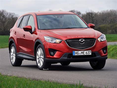 new mazda 2016 2016 mazda cx 5 facelift rendered autoevolution