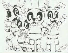 The mangle fnaf colouring pages page 3 apps directories