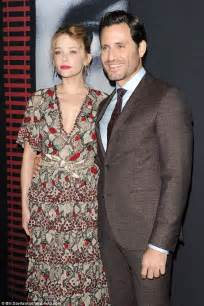 haley bennett and husband emily blunt dazzles at nyc premiere of the girl on the