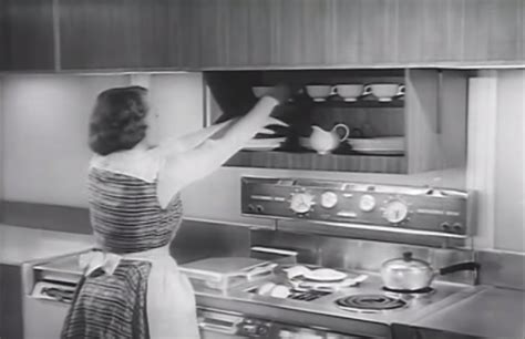 future kitchen tbt this 1950s kitchen of the future wasn t fully baked