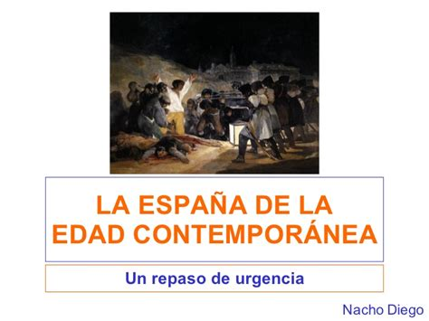 que es un pattern en español la edad contemporanea en espa 241 a