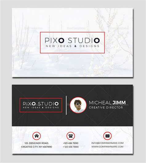 Director Business Card Template by Creative Business Cards Psd Templates Design Graphic