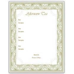 Of our formal dinner menu template menu templates printable menu