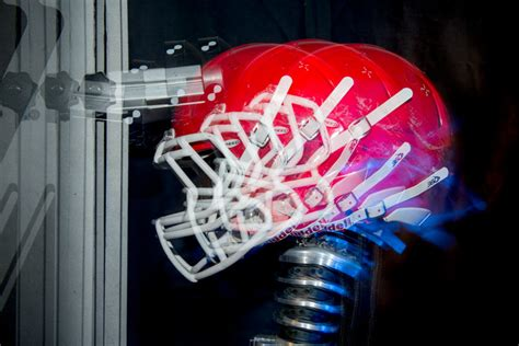 research paper on concussions in football research suggests football helmet tests may not account