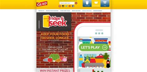 Win Gift Cards Playing Games - play glad fridge seek instant win game win visa gift cards