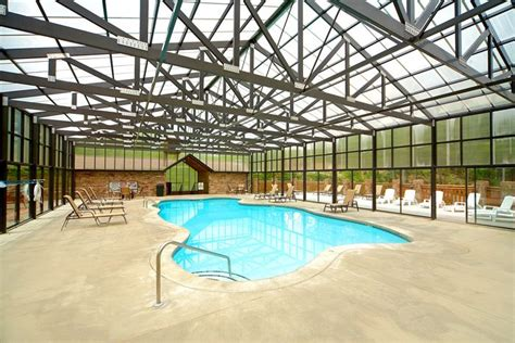Cottages To Rent With Indoor Pool by Resort Cabin Rental With Indoor Pool Access Cabin In