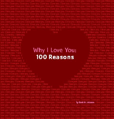 100 reasons why i love you from the dating divas why i love you 100 reasons by scott d johnson romance