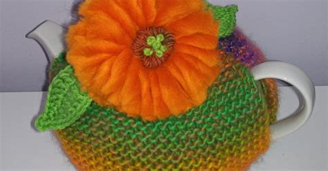 craft  cure  cancer  tea cosy patterns gerbera