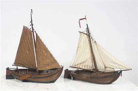 platbodem termen a dutch wooden model of a platbodem 20th century