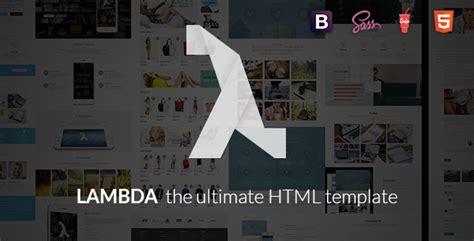 themeforest lambda lambda multi purpose bootstrap html template theme