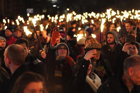 new year procession edinburgh s hogmanay torchlight procession