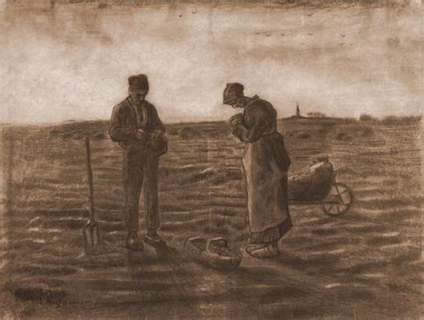 angelus paint netherlands the angelus after millet gogh vincent wikiart org