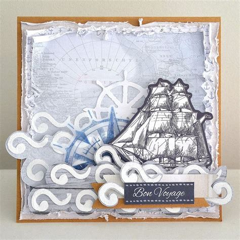 bon voyage card template 38 best kaisercraft toes images on
