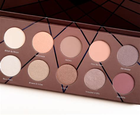 Eyeshadow Zoeva by Zoeva En Taupe Eyeshadow Palette Review Photos Swatches