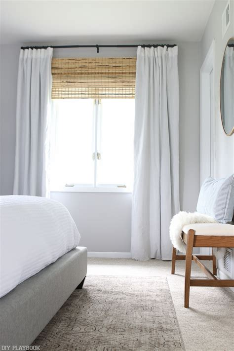 Bedroom Curtains Diy The Right Window Treatments To Make Your Window Look Bigger