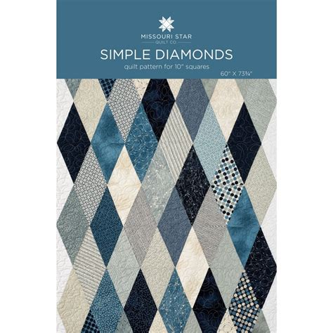 diamond pattern fabric name simple diamond quilt pattern by msqc missouri star quilt