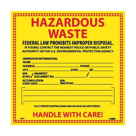 printable hazard label downloadable hazardous waste labels pictures to pin on