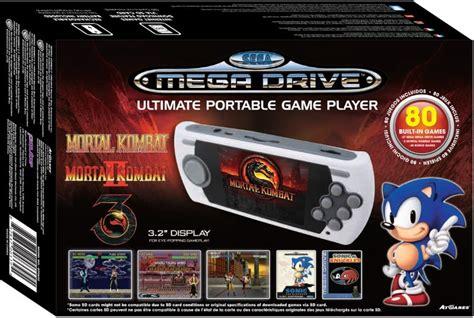 sega genesis ultimate portable player sega mega drive arcade classic console ultimate portable
