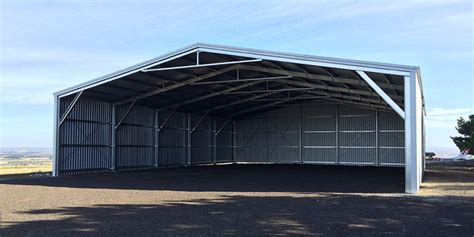 Aircraft Shed by 20m X 25m Aircraft Hangar In Barrabool Vic 3221