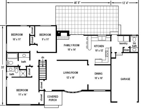 free house blueprints and plans design own house free plans free printable house