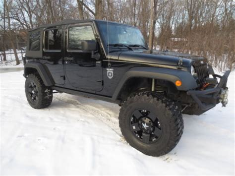 Jeep Wrangler Rubicon Lifted Jeep Wrangler Unlimited Rubicon Lifted For Sale 379 Used