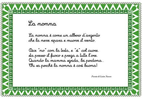 lettere per la nonna poesia per la nonna cose per crescere