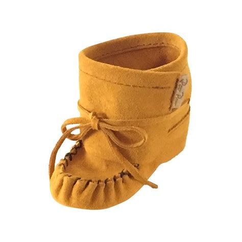 Moccasins Handmade - baby bootie lace up real suede leather moccasins canadian