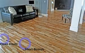 Cabin Floor rustic grade flooring explained