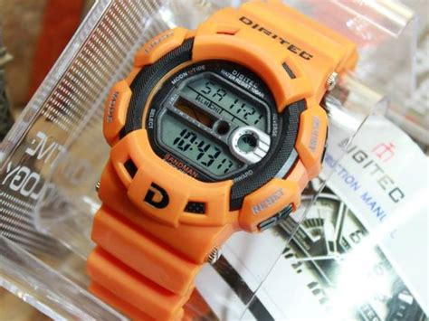 Jam Tangan Naviforce Original Silver Orange jual jam tangan digitec dg2087 original