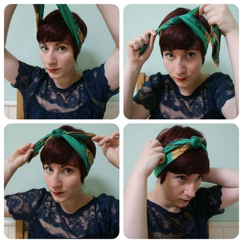 how to wear bandanas with bob hairstyles 25 best ideas about pixie cut headband on pinterest