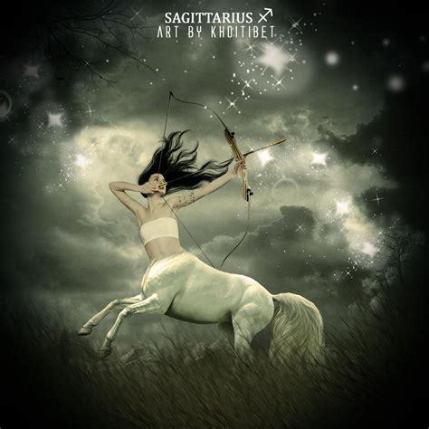 beautiful sagittarius sagittarius zodiac by khoitibet on deviantart
