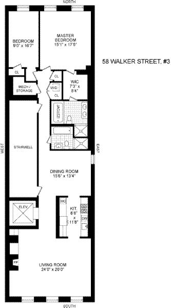 long narrow floor plans narrow apartment plans home design