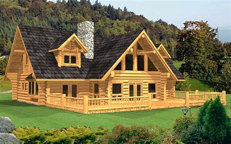 log home package lamberti plans designs international