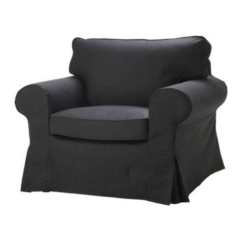 Armchair Slipcover by Ektorp Armchair Slipcover Idemo Black Chair Cover