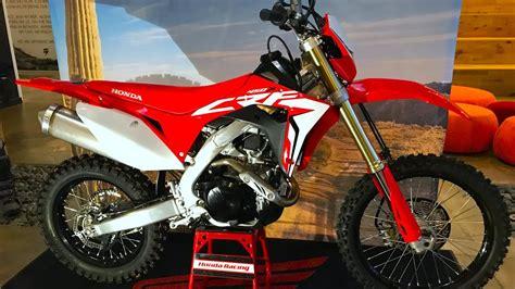 2019 Honda Dirt Bikes by 2019 Honda Crf450x Dirt Bike Magazine