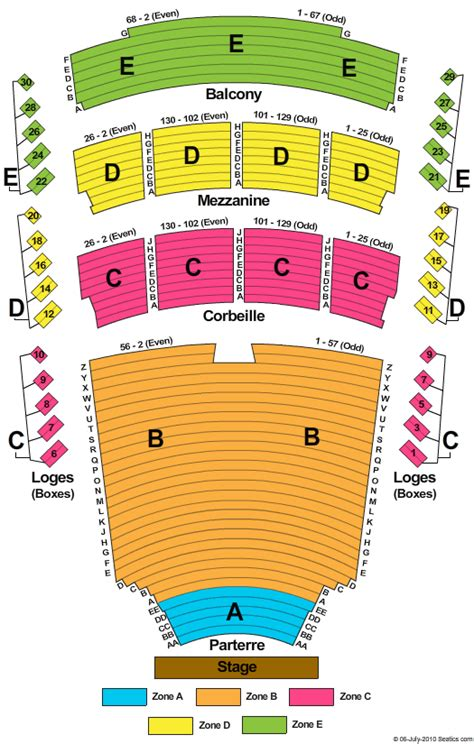 place des arts seating chart theatre maisonneuve the king musical tickets clickitticket