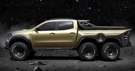 mercedes  class concept pickup    roading