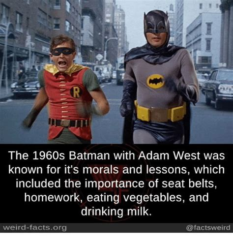 1960s fun facts the 1960s batman with adam west was known for it s morals