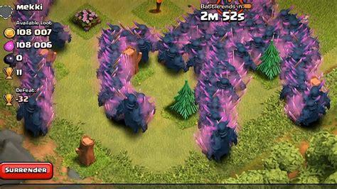 Coc Pekka Level6 clash of clans pekka raid 300 level 5 mass gameplay