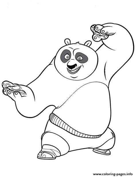 panda coloring page pdf coloring pages for kids kung fu panda poa5bb coloring