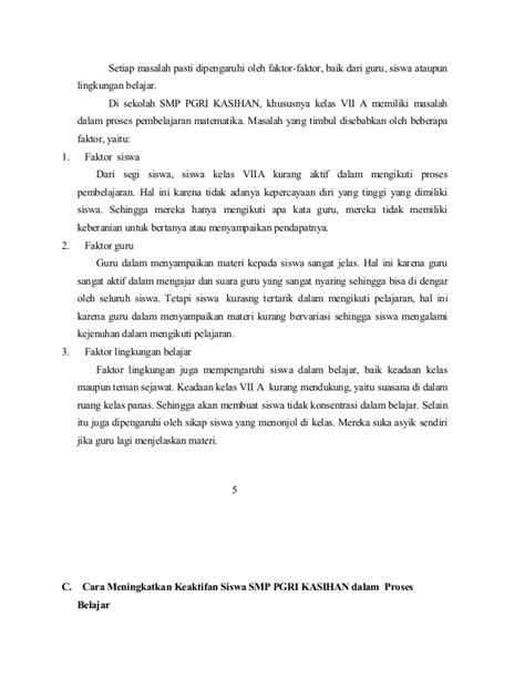 format laporan observasi pdf contoh laporan hasil observasi