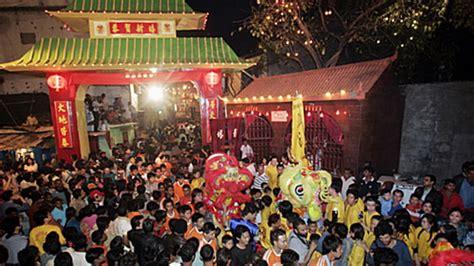file chinese new year in chinatown tangra kolkata india