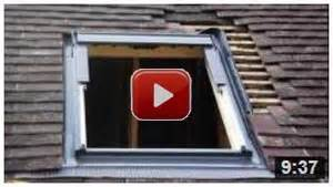Velux Window Blinds Fitting Instructions - fitting a velux roof window or keylite rooflite or roto skylight