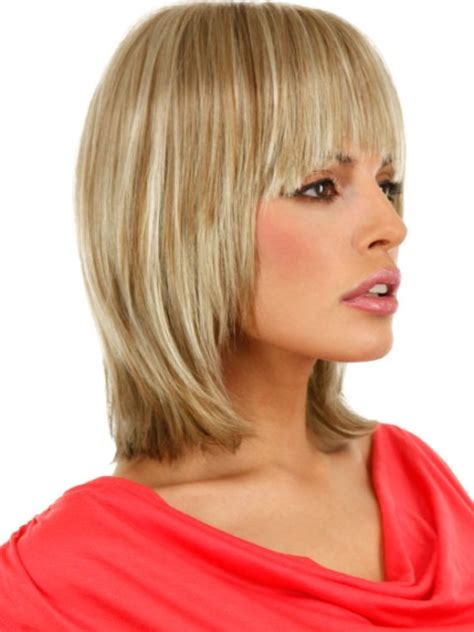 medium length layered hairstyles for women over 50 women