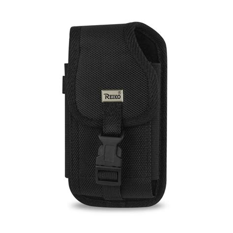 rugged holsters reiko medium vertical rugged holster in black ph01b mb810plbk the home depot