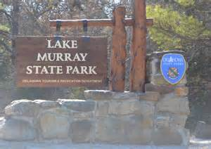 Lake Murray State Park Map by State Park Lake Murray