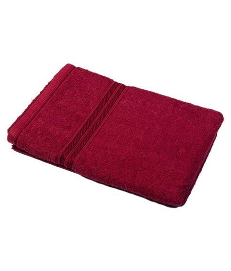 Plain Maroon 1 enterprises maroon plain cotton bath towel buy enterprises maroon plain cotton