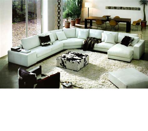 bonded leather sectionals dreamfurniture com 2617 modern bonded leather